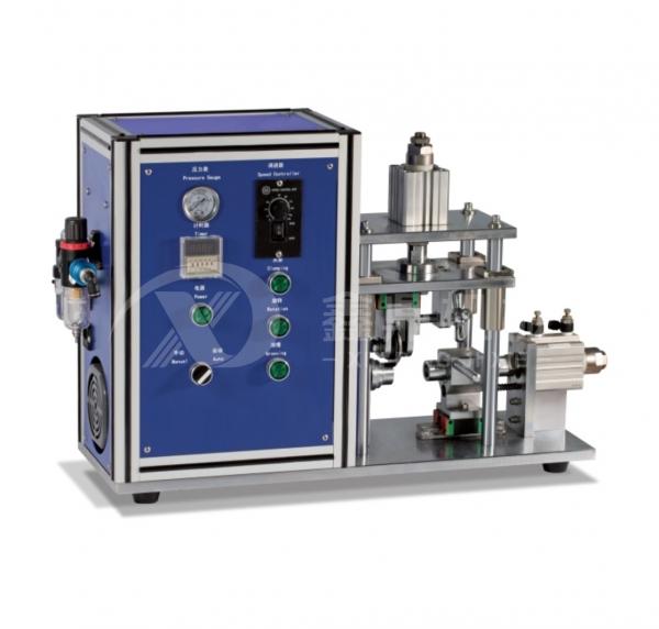 XD-GC650半自动圆柱电池滚槽机