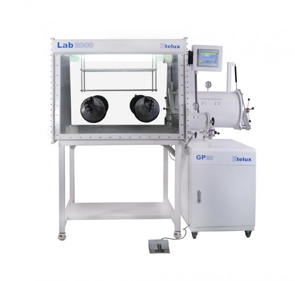 Lab2000单工位分体式手套箱