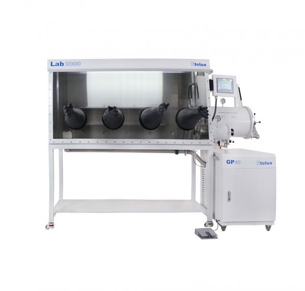 Lab2000-1800双工位一体式单面手套箱
