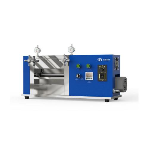 XD-JDG100 加热电动立式对辊机